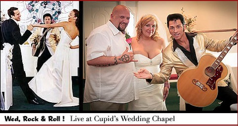 renew your vows in Las Vegas with Elvis